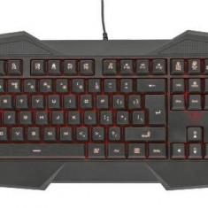 Tastatura Trust Gaming Trust GXT 830, Led, iluminata, Negru