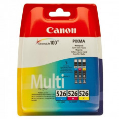 Canon Cartus Canon CLI-526 Multipack Cyan/Magenta/Galben pentru MG8150 - Aparat Foto compact Canon