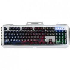 Tastatura Newmen Multimedia GM816, USB, Black/Silver