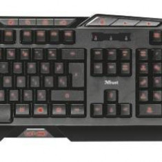 Tastatura Trust + mouse Trust GXT 282, Negru