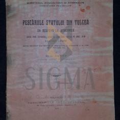GRIGORE ANTIPA (DOCTOR), PESCARIILE STATULUI DIN TULCEA, BUCURESTI, 1911 - PESCARIILE STATULUI DIN TULCEA, GRIGORE ANTIPA (DOCTOR), BUCURESTI, 1911