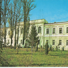 OLT -SLATINA, LICEUL 1974 - Carte Postala Oltenia dupa 1918, Circulata, Printata