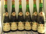 6 sticle vin vechi, de collection( LOT: Nr. 4 ) recoltare 1969, Sec, Alb, Europa