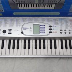 Orga clapa pian electronic CASIO SA-75 la cutie in stare excelenta