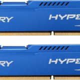 Memorie Kingston HX316C10FK2/16, HyperX Fury 16GB DDR3, 1600MHz, CL10, Dual Channel - Memorie RAM