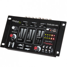 Consola DJ Ibiza MIXER USB CU DISPLAY DIGITAL - Console DJ
