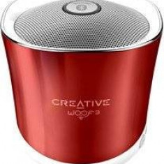 Placa de sunet Creative WOOF3, Bluetooth, USB, Rosu - Placa de sunet PC