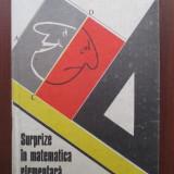 Surptize in matematica elementara - Carte Matematica