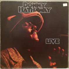 DONNY HATHAWAY - LIVE (1972/ATLANTIC REC/RFG) - Vinil/Jazz/RAR/Impecabil (NM) - Muzica Jazz warner