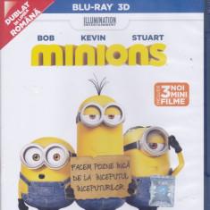 Film Blu Ray 3D: Minions (sigilat - dublat in romana ) - Film animatie