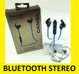 Casti Bluetooth Stereo cu incarcare minusb USB, Casti On Ear