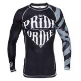 Bluză PrideOrDie - Neagră, Culoare: Negru, Marime: L, XL, Articole mulate