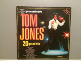 TOM JONES - 20 GREAT HITS (1978/DECCA REC/RFG) - Vinil/Vinyl-Analog, decca classics