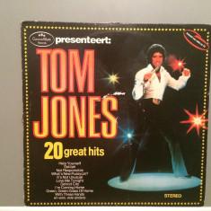 TOM JONES - 20 GREAT HITS (1978/DECCA REC/RFG) - Vinil/Vinyl-Analog - Muzica Pop decca classics