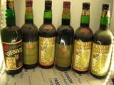 6 sticle vin di sardegna lot ( 22) recoltare 1964/67/68/69/71/71, Sec, Rosu, Europa
