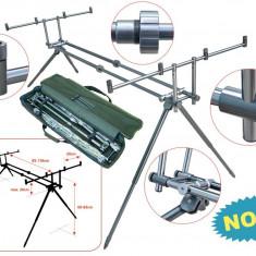 Rod pod #3 Baracuda pentru 4 lansete full metal, 4 posturi