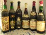 6 sticle vin vechi, de collection ( LOT: Nr. 19 ) recoltare 1969/70/71/72/73/74, Sec, Rosu, Europa
