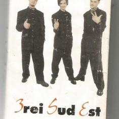 A(01) Caseta audio- 3REI SUD EST - Muzica Rock, Casete audio