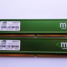 Memorii DDR2 Mushkin 4GB 2 x 2GB, PC6400, 800 MHz - Memorie RAM