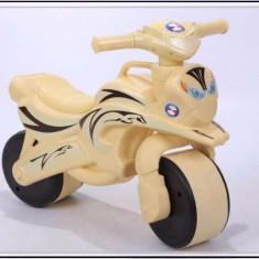 Motocicleta cu sunete si lumini pentru copii Flamingo crem - Vehicul