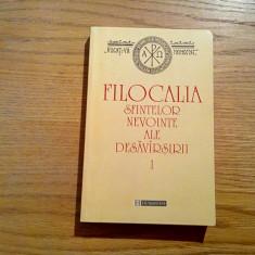 FILOCALIA * Scrierile Sfintilor Parinti (vol.I) - tr. D. Staniloae - 1999, 406p. - Vietile sfintilor