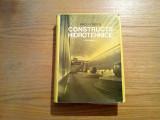 CONSTRUCTII HIDROTEHNICE * Vol. II - Radu Priscu - Editura Didactica, 1974