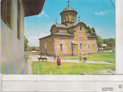 bnk cp Curtea de Arges - Biserica domneasca - circulata foto