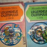 Legendele Olimpului ( eroii + zeii ) - Alexandru Mitru - Carte mitologie