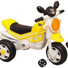 Tricicleta cu pedale Speedy Bee - Tricicleta copii Baby Mix, Multicolor