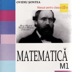 MATEMATICA. MANUAL PENTRU CLASA A XII A M1 de EUGEN RADU - Manual scolar all, Clasa 10, All