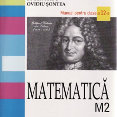 MATEMATICA. MANUAL PENTRU CLASA A XII A M2 de EUGEN RADU - Manual scolar all, Clasa 10, All