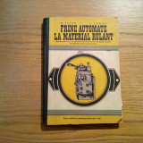 FRINE AUTOMATE LA MATERIALUL RULANT - D. Tilea, I. Langa - 1977, 223 p. - Carti Mecanica