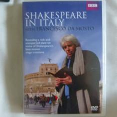 Shakespeare in Italy - dvd - Film documentare Altele, Engleza