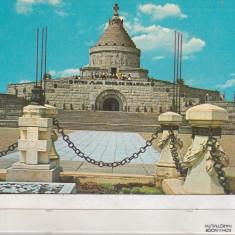 Bnk cp Marasesti - Mausoleul eroilor - circulata - marca fixa - Carte Postala Moldova dupa 1918, Printata