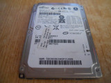 HARD DISK LAPTOP SATA 160 GB FUJITSU MHW2160BH  IMPECABIL, 100-199 GB, 5400