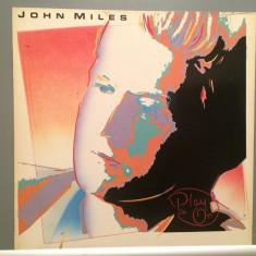 JOHN MILES - PLAY ON (1983/EMI REC/RFG) - Vinil/Analog/Impecabil (NM) - Muzica Rock emi records