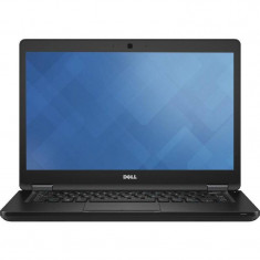Laptop Dell Latitude 5480 14 inch Full HD Intel Core i7-7600U 8GB DDR4 256GB SSD Linux Black