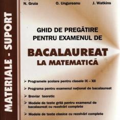 GHID DE PREGATIRE PENTRU EXAMENUL DE BACALAUREAT LA MATEMATICA de P. NEGHILA - Manual scolar all, Clasa 10, All