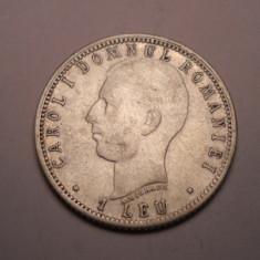 1 leu 1906 A . Michaux Varianta cu Punct - Moneda Romania