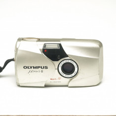 Olympus Mju II - 35mm f2.8 - Aparat Foto cu Film Olympus