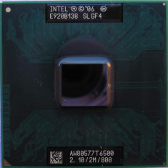 Intel Core 2 Duo T6500 SLGF4 2.10 Ghz 2M 800 mhz Socket P 478-pin micro-FCPGA - Procesor laptop