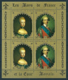 TCHAD 1971 - REGALITATE, REGII FRANTEI - BLOC NESTAMPILAT - MNH / pictura179