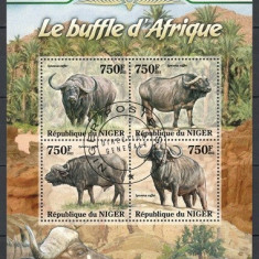 NIGER 2013 - BIVOLI DIN AFRICA - KLB STAMPILAT / fauna34