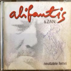 Nicu Alifantis & Zan - Neuitatele Femei (1 CD original cu autograf) - Muzica Folk Altele