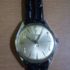 Ceas vechi de colectie DOGMA Prima, Incabloc 21 jewels, super de luxe, antimagnetic