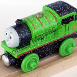 Thomas and Friends ✯ Wooden Railway ✯ SNOW PERCY ✯  Magnetic Train ✯ 2012