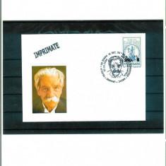 Plic - Dr. ALBERT SCHWEITZER - medic, filozof, umanist - stampila tematica