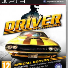 PS3 joc Driver San Francisco Special edition Playstation 3 ca nou - GTA 5 PS3 Rockstar Games