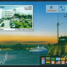 CUBA 2014 - TURISM - BLOC NESTAMPILAT - MNH