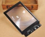Lupă A4 de buzunar 3X completa Pagina Fresnel Lens Flexibil citire card Lupa 3X